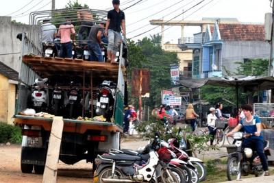 Dịch vụ gửi xe máy vào Sài Gòn chất lượng nhất