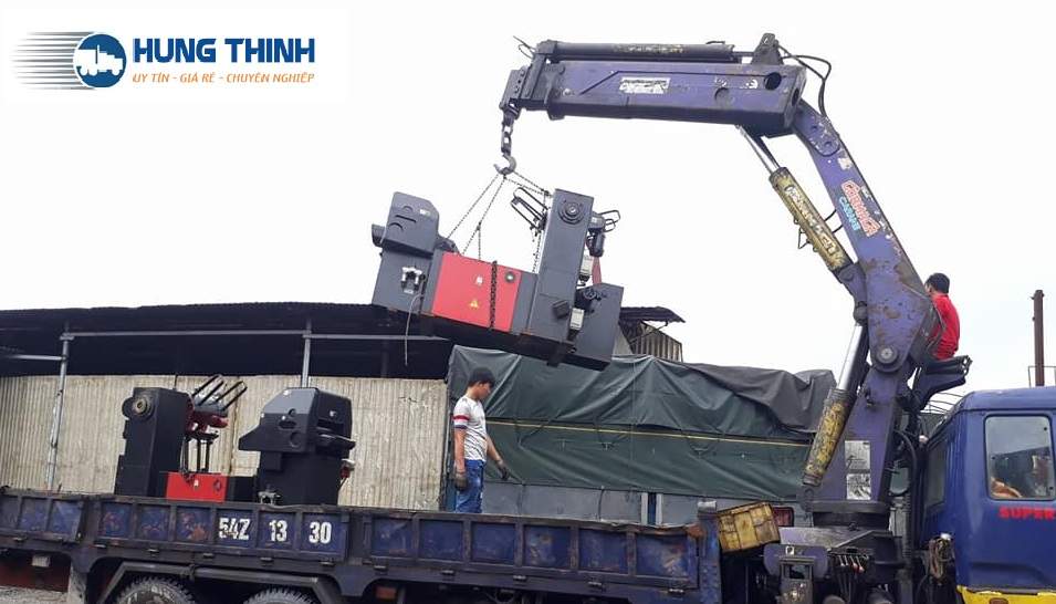 Chuyển Máy cơ khí đi KCN Đồng Văn Hà Nam